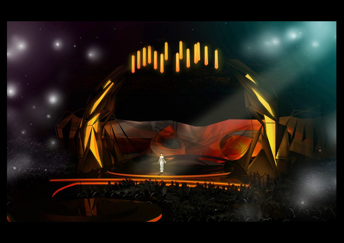 Stage Design for Malmo 2013