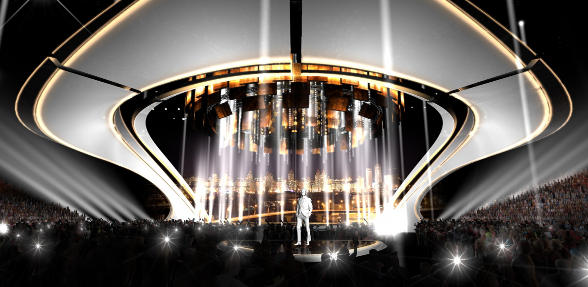 The STAGE of Eurovision 2017