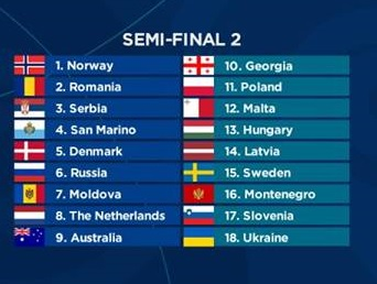 Romania performs seccond in Semi-Final 2