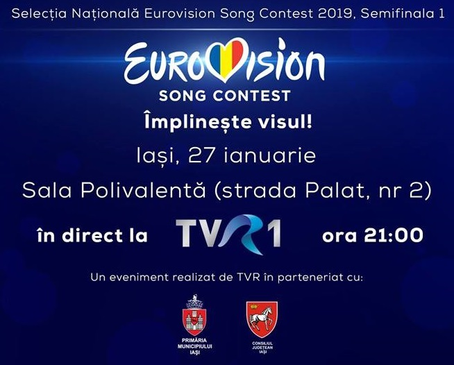 Tonight the first Semifinal of Selectia Nationala 2019