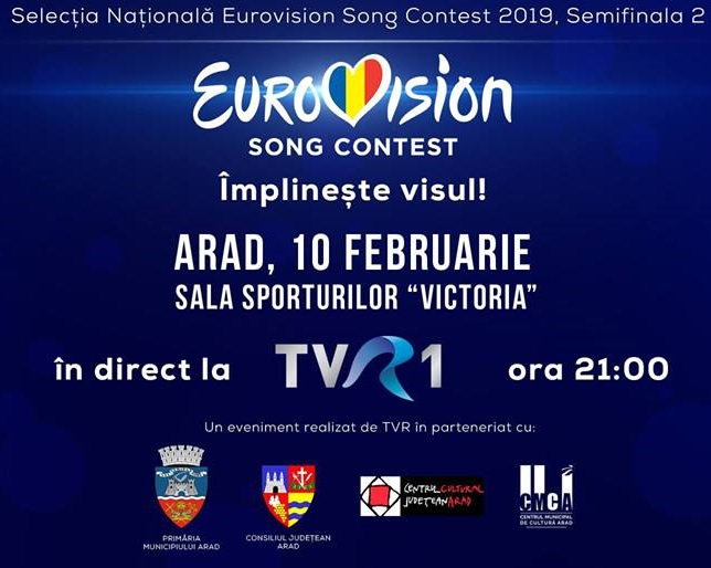 Tonight the seccond Semifinal from Selectia Nationala
