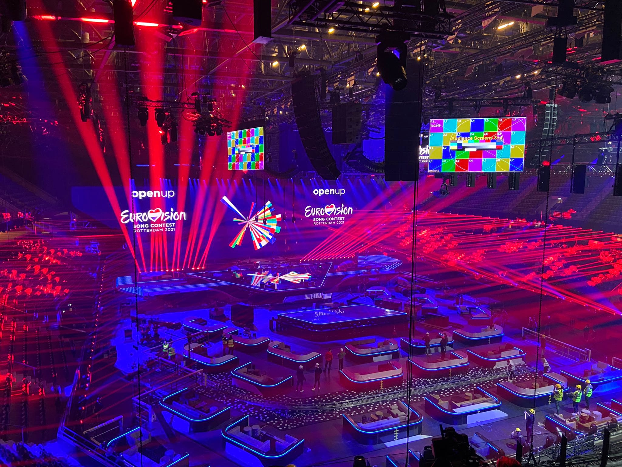 Eurovision 2021 STAGE almost ready